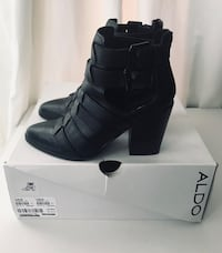Brand New Aldo Leather Booties Size 6.5 Toronto