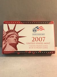 2007 United States Mint Silver Proof Set Pike Road, 36064