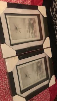 "two black 5"" x 7"" (18m x 13cm)  wooden photo frames  Winnipeg, R2C 4H8"