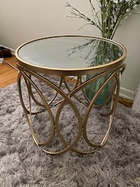 Brand New Gold End table