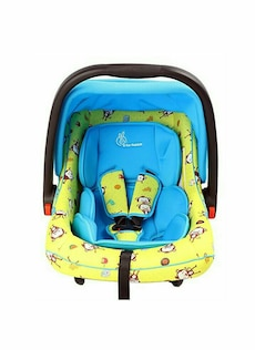 green and blue It for Rabbit car seat