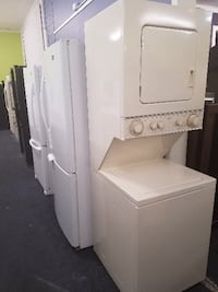 White stackable washer and dryer Santa Rosa, 95404