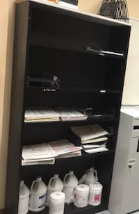 MAKE ME AN OFFER AND TAKE IT WITH YOU TODAY!!! Black wooden shelve reduced price.  Accepting reasonable offers . 712 mi