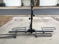 Curt Tray-Style bike rack