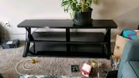 TV stand  holds up to 55 inch TV w built in rack  Portland, 97217