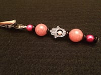 NEW handcrafted Pink Passion Eye of Fatima Karma Clip (roach clip) Wilmington, 19809