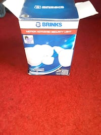 Brinks motion activated security light