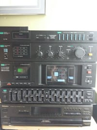 black audio tuners and players set Vancouver, V5N 2W5