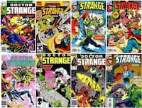 Comic books. 4 dr strange in mint condition.  Free delivery London, N5Y
