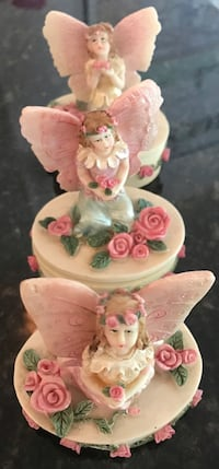 Little angel resin containers, set of 3! Silver Spring, 20904