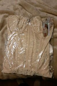 Ivory bustier by coquette size 3X / 4X Brantford, N3P