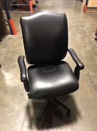 Leather Office Chairs (2) UPPR MARLBORO, 20773