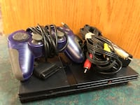 PS 2 Slim with cords/ 1 game