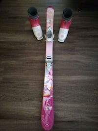 Used Girls' Skis and Boots