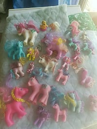 My little ponies g1 till now.