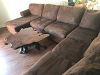 Brown sectional couches Bakersfield, 93308