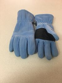 Pair of blue gloves