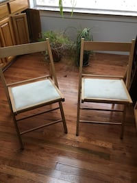 Two folding chairs Rockville, 20850