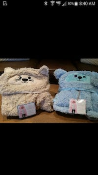 Child's ultra soft blanket great for Easter
