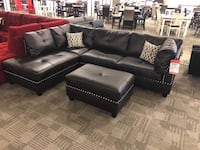 Sectional and FREE ottoman with purchase  Phoenix