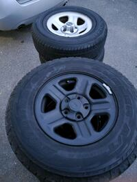 Jeep cherokee rims and tires Damascus, 20874
