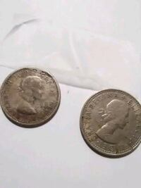 two round silver-colored coins Temple Hills, 20748