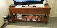 Reclaimed wood buffett table and end table as set Licking County, 43055