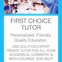 College-level math tutor Toronto, M3J