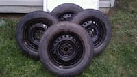 """14"""" Winter Tires With Rims Salmon Arm, V1E 1Y2"""