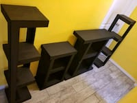 two brown wooden side tables Pharr, 78577
