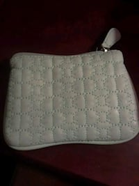 Mint soft pleather quilted bow wallet coin purse Kingston, K7M 7C1