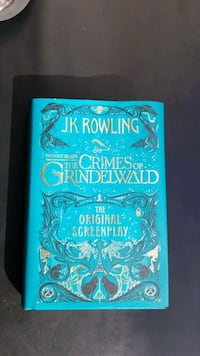 The Crimes of Grindelwald hardcover Columbia