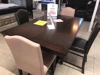 brown wooden dining table set Houston, 77084