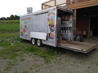 Very Strong Food Trailer 8x20 Comes fully loaded