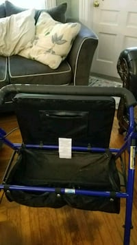 Large walker with seat storage and breaks Pawtucket, 02860