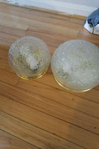 two round clear glass bowls Randallstown, 21133