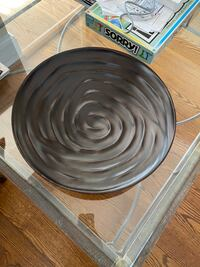 Wood display bowl crate and barrel Chevy Chase, 20815