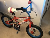 toddler's red and blue bicycle St Albert, T8N 3Y2