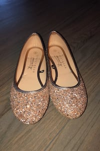 Sparkly Flat Shoes