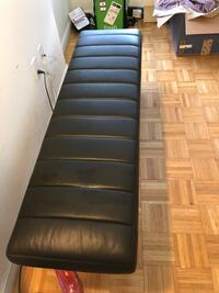 West Elm Leather Bench New York, 10019