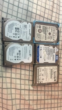Laptops hard drives 2-500GB  640GB 750GB Waterloo, N2L 3M6