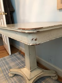 White Distressed Antiqued Table Bethesda, 20814