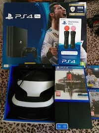 Sony PS4 console with controller and game cases Leeds, LS14 1BR