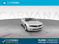 2010 Chevy Chevrolet Camaro coupe LT Coupe 2D SILVER