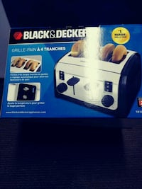 Brand New Black and Decker Toaster Pick Up Only Gatineau, J9J 2J2