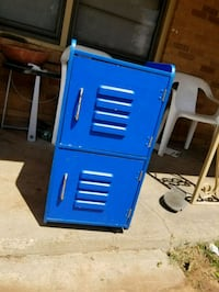 blue and gray metal tool chest Lubbock, 79414