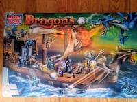 Mega blocks Dragons Krystal Wars Man-O-War