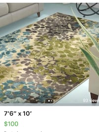 brown and green floral area rug screenshot Hagerstown, 21742