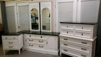 white wooden dresser with mirror Montclair, 22025