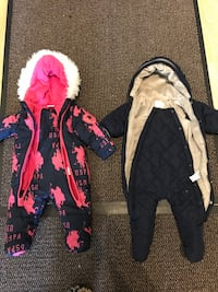 Ralph Lauren and Next baby winter overall for 3-6 months and 0-3 months. 200 each